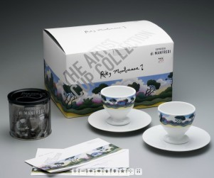 The Artist Cup - Ceramic di Manfredi : Porcelain: 2010: Photograph courtesy Manfredi Enterprises