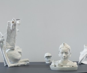 Installation: Roderick Bamford : various dimensions: 'HYPERCLAY: Contemporary Ceramics at Object Gallery, 2011. Photo: Jamie Williams'